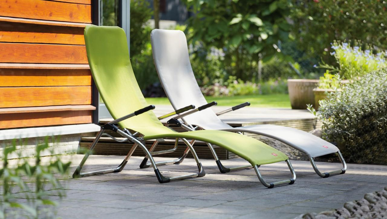 SAMBA Sonnenliege Liegestuhl Gartenliege von Jan Kurtz