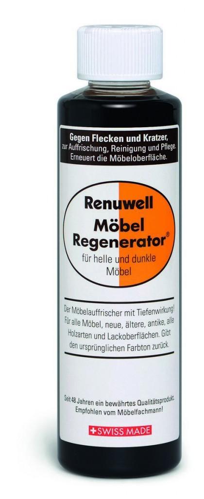 Renuwell Möbelregenerator Möbelpflege Wirksam bei Flecken und Kratzer