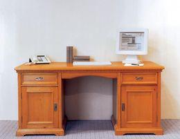 Schreibtisch Victoria 2-türig Fichte massiv