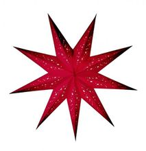 Starlightz Baby Spumante red Papierstern rot Earth friendly Collection