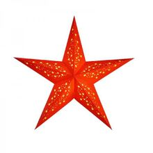 Starlightz MIA Orange Leuchtstern aus Papier Earth friendly Collection