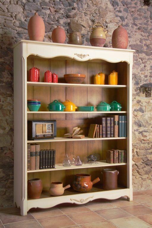 Regal Bücherregal von Siguier 9855 Creme