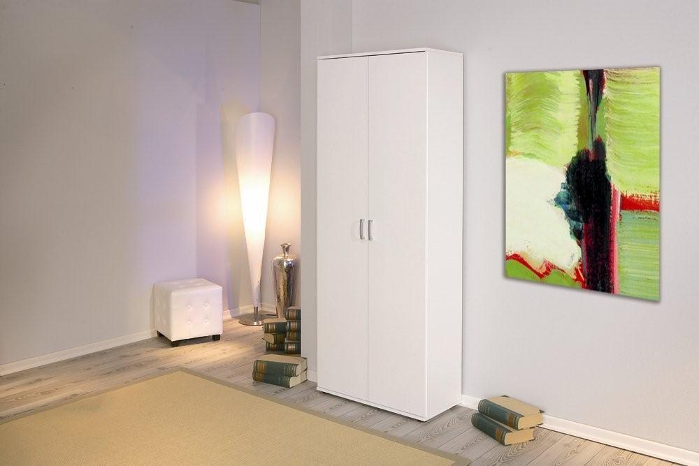 schrank b roschrank aktenschrank arconati melamin wei 5 fachb den ebay. Black Bedroom Furniture Sets. Home Design Ideas