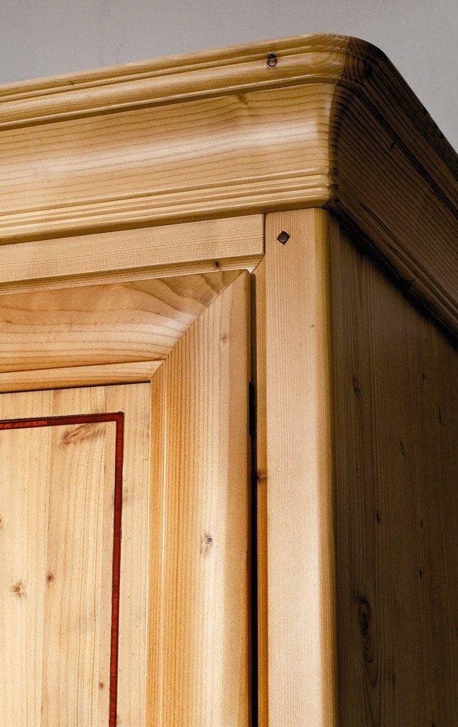 Kleiderschrank Il Sogno 4-trg. Fichte Honig lackiert Ausstellungsstück