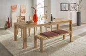 Tischgruppe Signal 140x90 mit Holzstuhl 733 Kernbuche oder Wildeiche Vorschau
