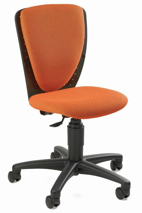 Kinderstuhl Drehstuhl High S`Cool Orange von Top Star -1