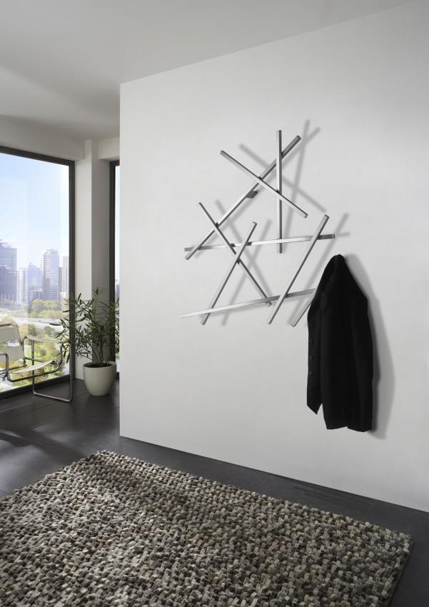 garderobe wandgarderobe matches klein edelstahl von spinder design. Black Bedroom Furniture Sets. Home Design Ideas