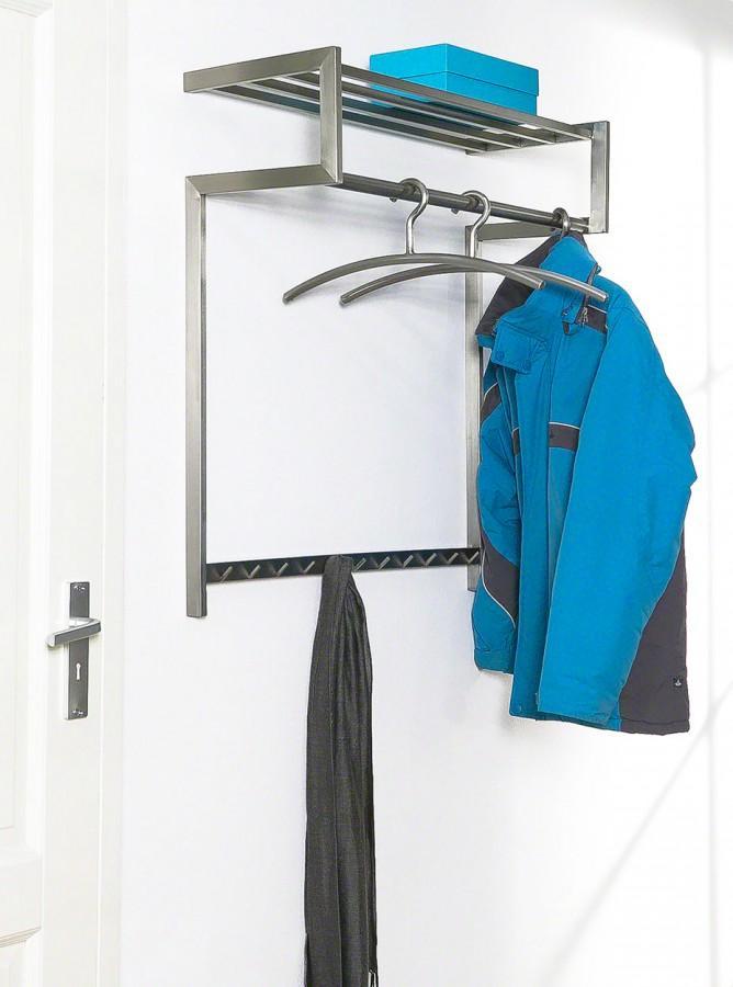 Garderobe Wandgarderobe IMMO 69 Edelstahl