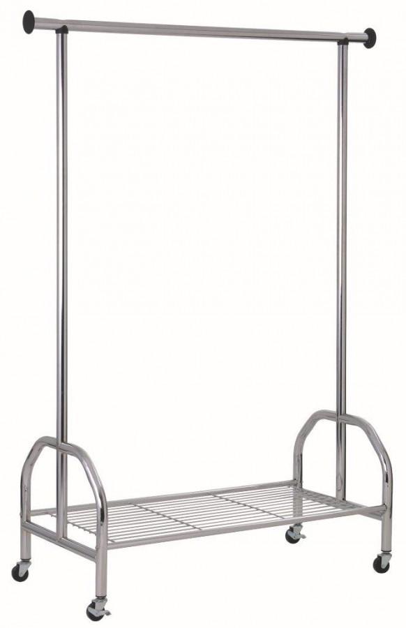 Garderobe Rollgarderobe Hang Up II Stahl verchromt