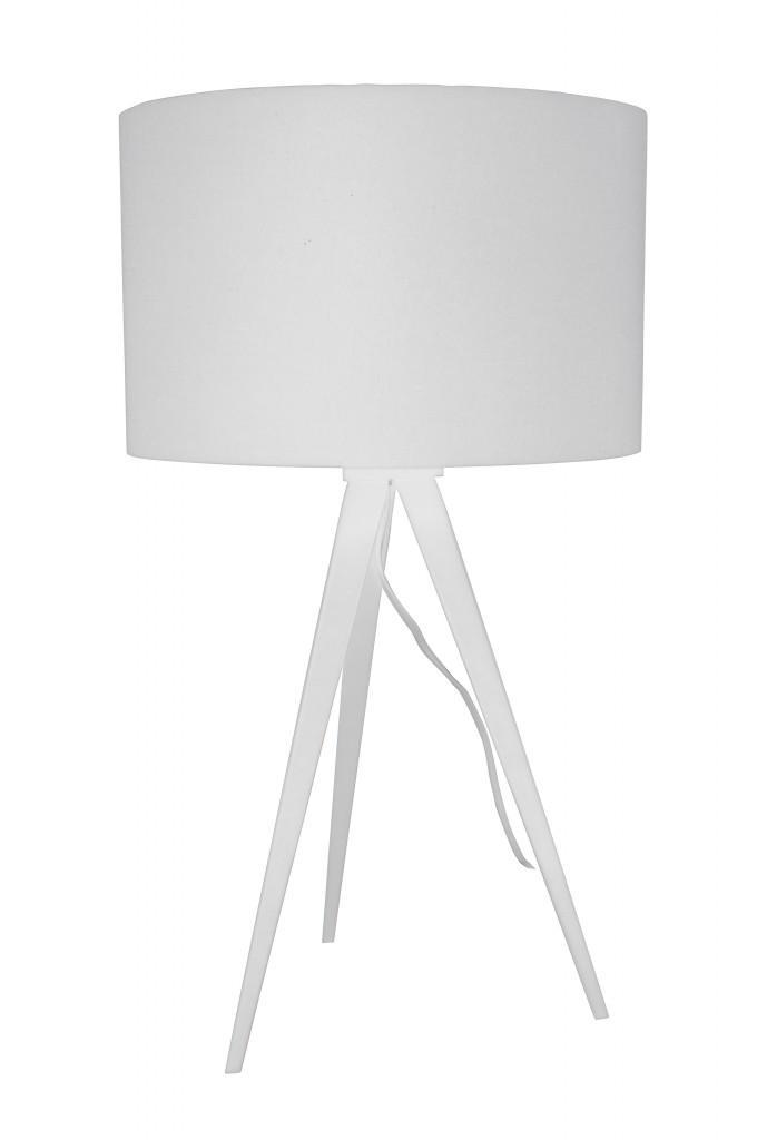 Zuiver Tripod Table Designer Lampe Tischleuchte White