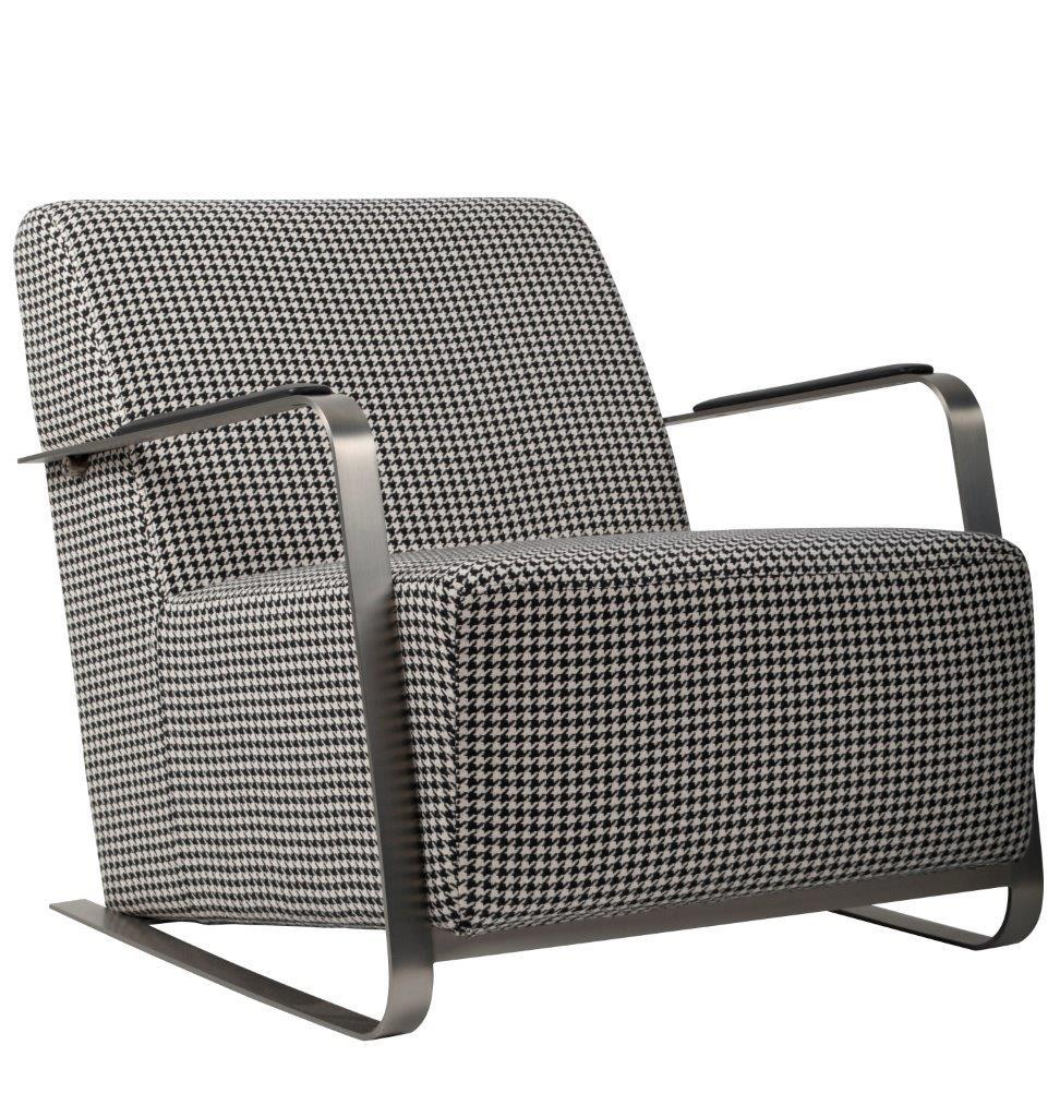 Zuiver Retro Designer Sessel ADWIN Black & White