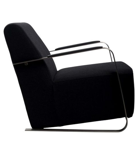 Zuiver Retro Desinger Polstersessel Loungesessel ADWIN Black