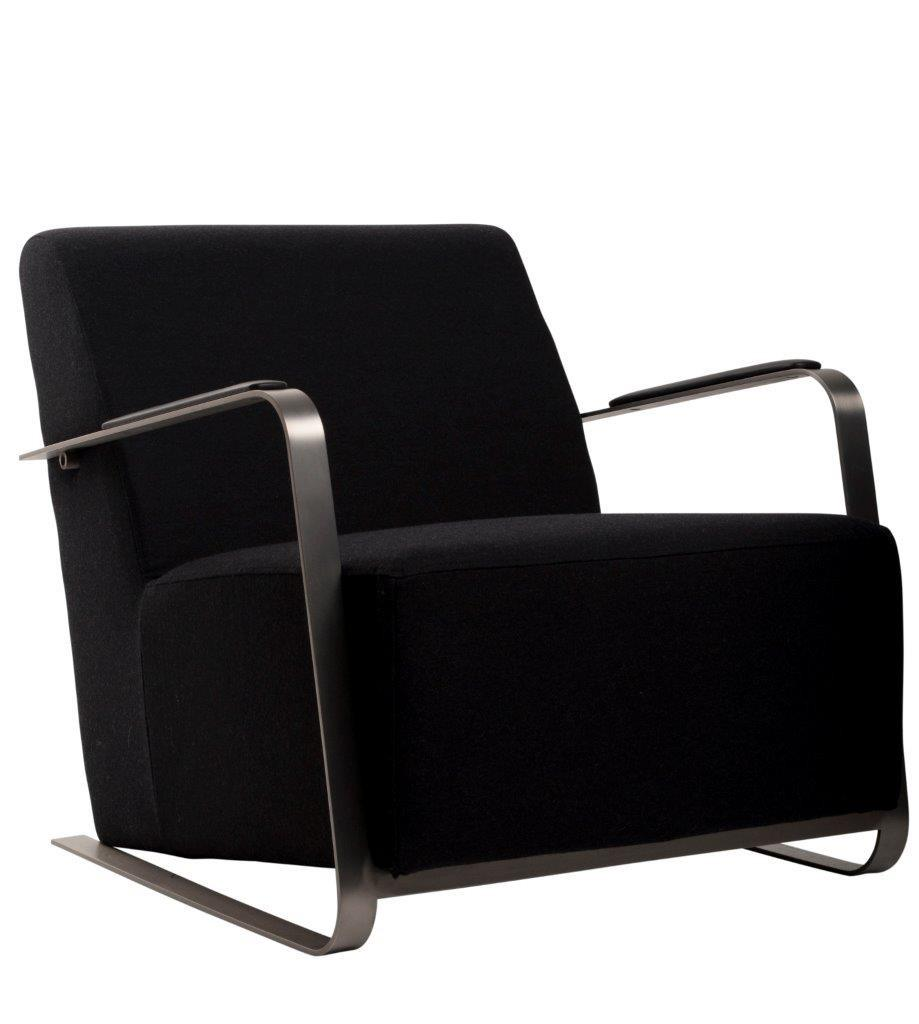 Zuiver Designer Polstersessel Loungesessel ADWIN Black