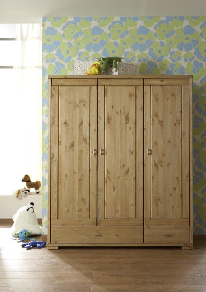 kleiderschrank vita schrank garderobenschrank 3 trg. Black Bedroom Furniture Sets. Home Design Ideas
