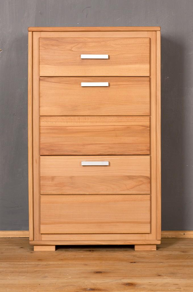 schuhschrank schuhkipper genf 61 cm kernbuche massiv ge lt gewachst ebay. Black Bedroom Furniture Sets. Home Design Ideas