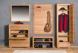schuhschrank schuhkipper genf 91 cm kernbuche massiv ge lt gewachst. Black Bedroom Furniture Sets. Home Design Ideas