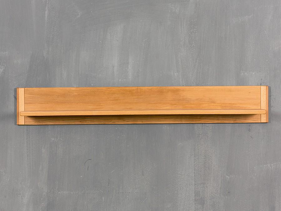Wandboard Genf 112 cm - Kernbuche Massivholz geölt/gewachst