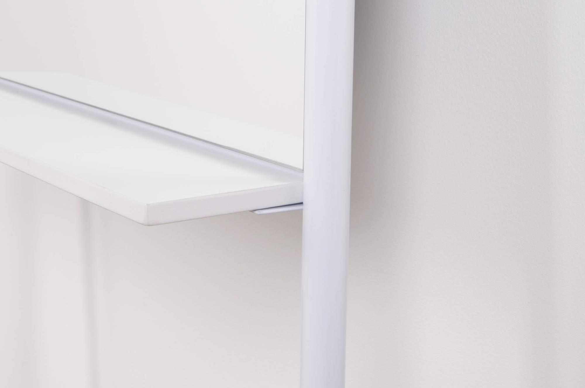 Zuiver Leaning Spiegel : Standspiegel mirror leaning in weiß von zuiver