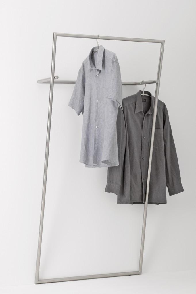 garderobe barrel edelstahl design von jan kurtz. Black Bedroom Furniture Sets. Home Design Ideas