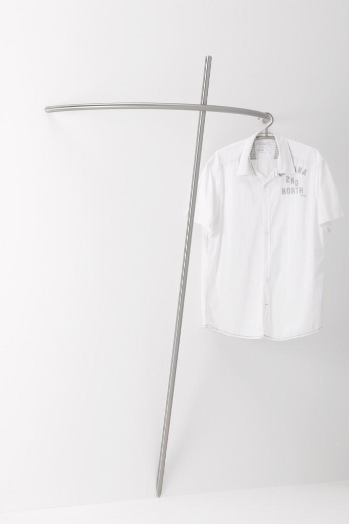 Garderobe BRENT Edelstahl Design von Jan Kurtz