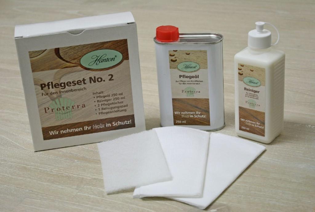 Proterra Möbelpflege Holzpflegeset No. 1, für gewachste Oberflächen