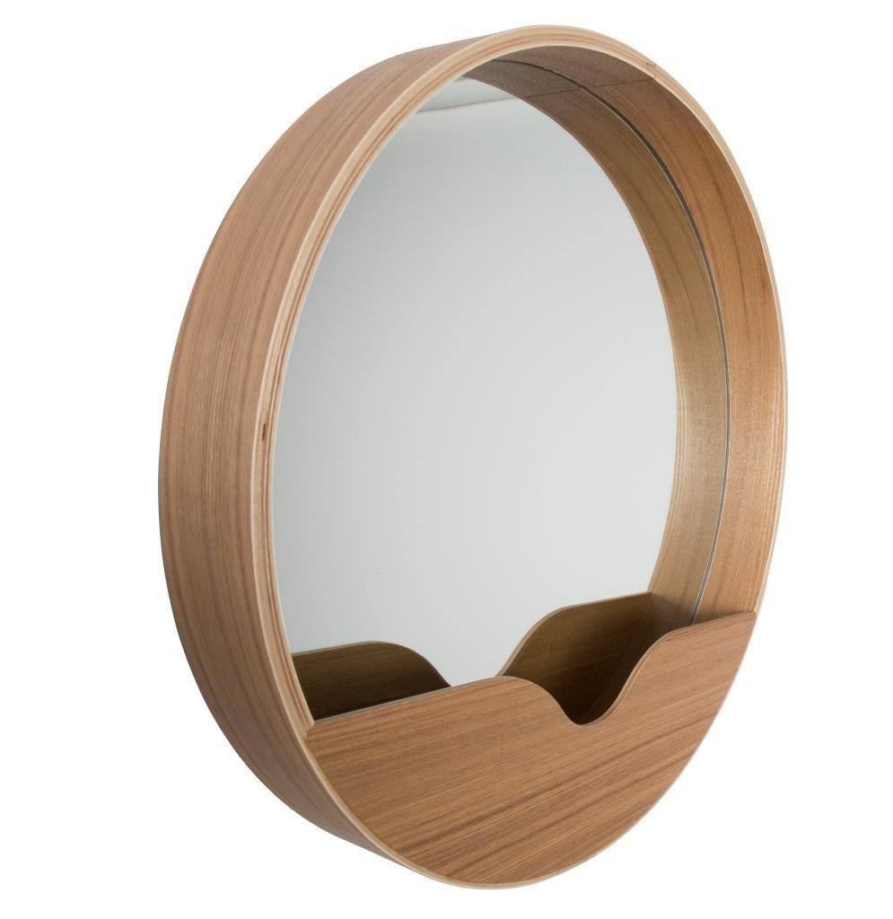 wandspiegel spiegel round wall 40 cm von zuiver. Black Bedroom Furniture Sets. Home Design Ideas