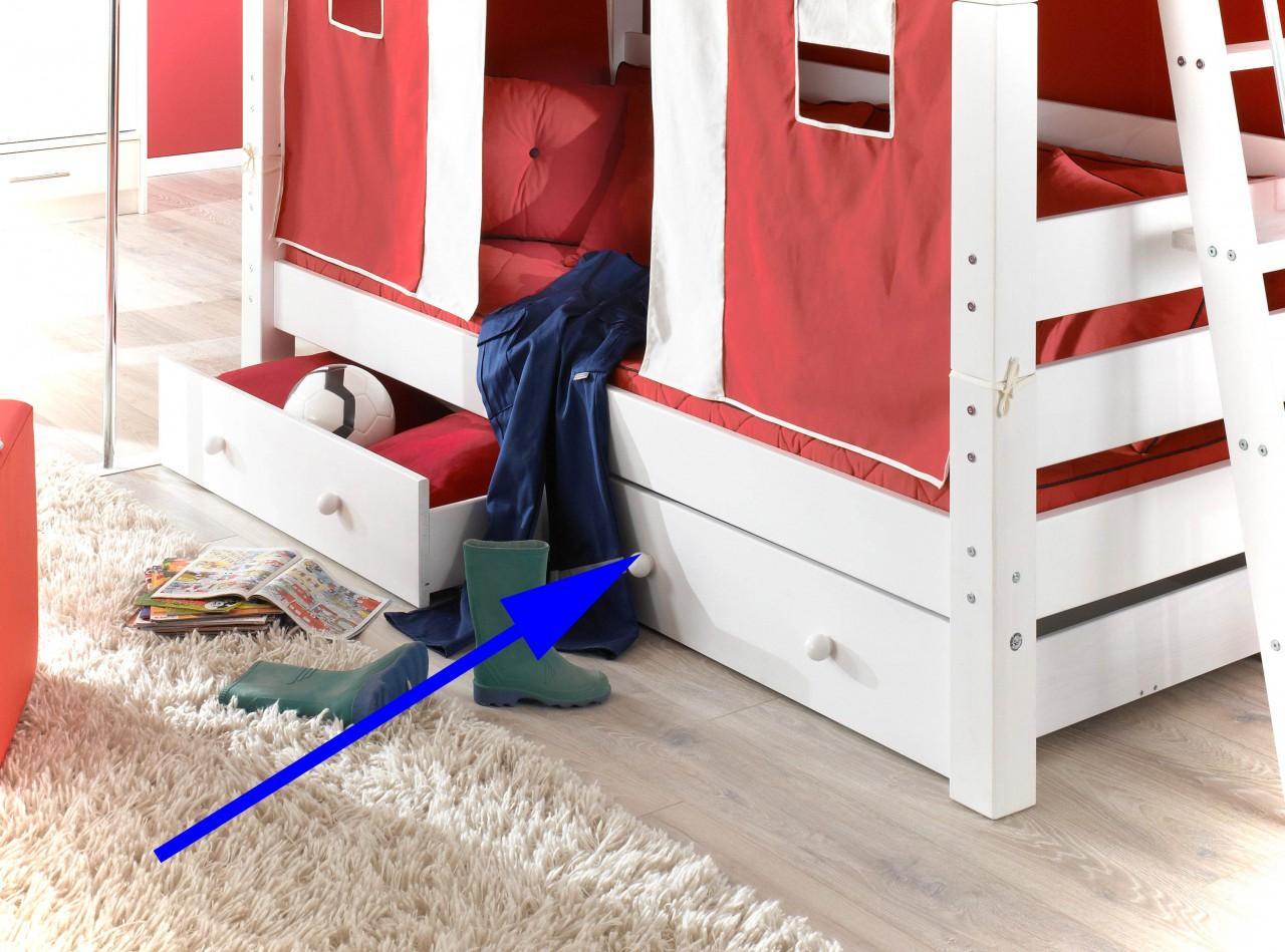 Etagenbett Einzelbett : Brandneue polo hochbett etagenbett stämmige mm eckpfosten
