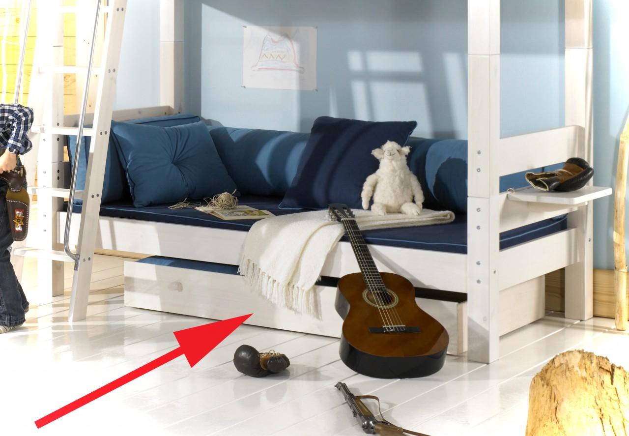 Bettkasten Schublade für Einzelbett + Etagenbett MOBY