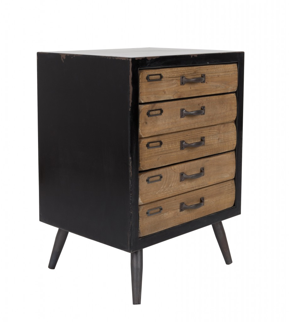 vintage kommode mit schubladen cabinet sol m von dutchbone. Black Bedroom Furniture Sets. Home Design Ideas
