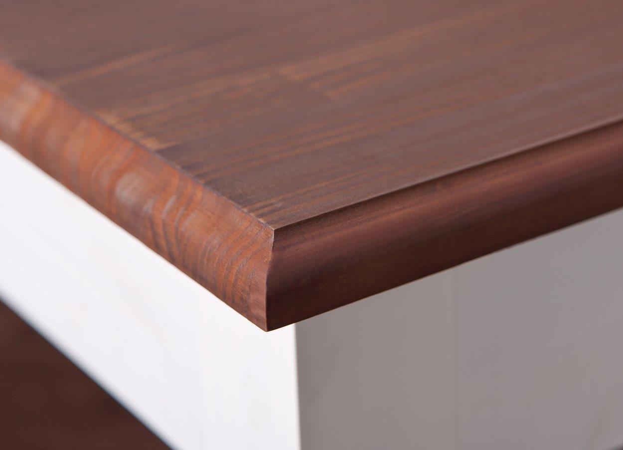esstisch cassala 1 2 im landhausstil 160 x 90 cm ausziehbar. Black Bedroom Furniture Sets. Home Design Ideas