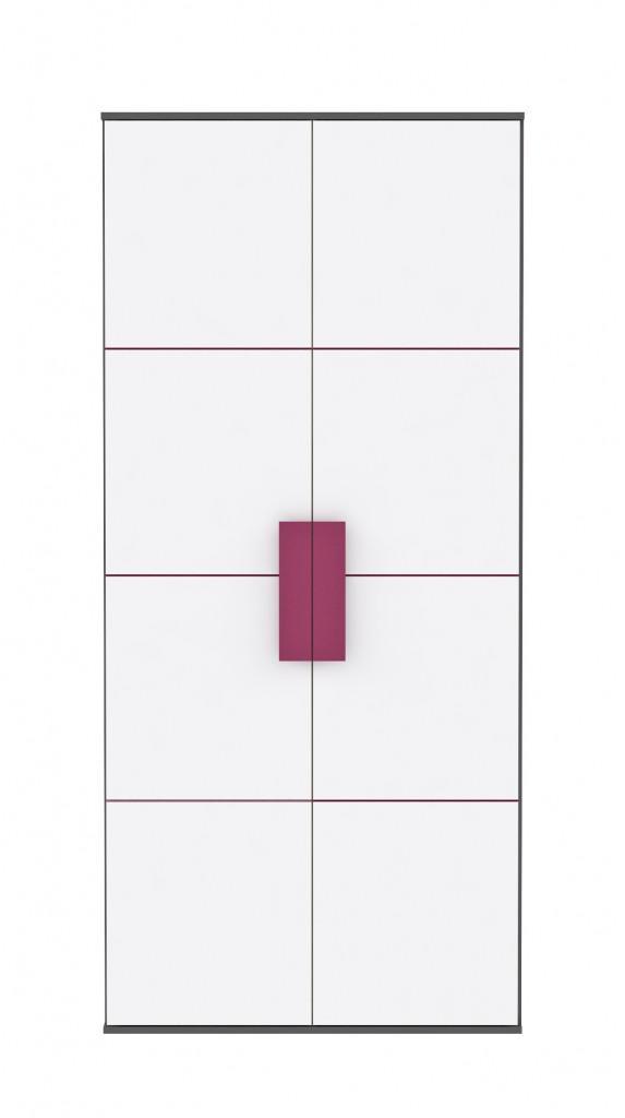 Kleiderschrank LIBELLE Schrank mit 2 Türen von Forte