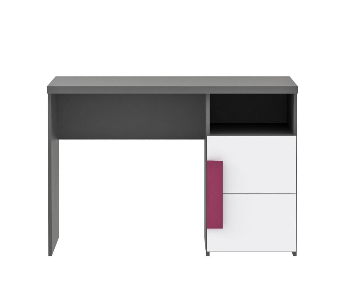 Attraktiv Schreibtisch Grau Weiß Foto Von