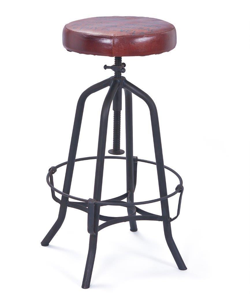 vintage barhocker cardiff h henverstellbar ebay. Black Bedroom Furniture Sets. Home Design Ideas