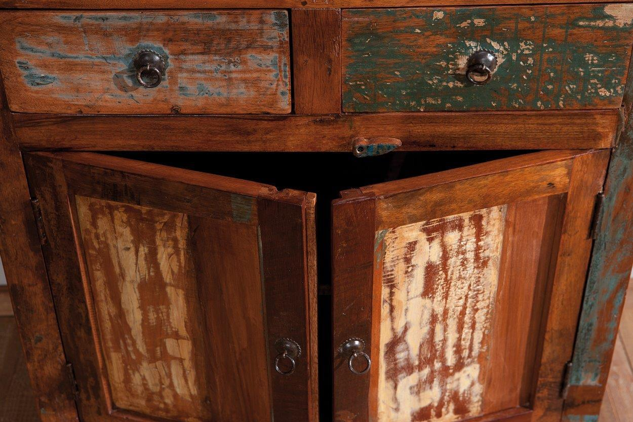 unique vintage kommode farol aus recycling mangoholz. Black Bedroom Furniture Sets. Home Design Ideas