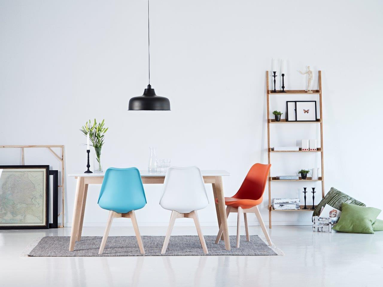 Stuhl jerry esszimmerstuhl mit schalensitz in schwarz for Esszimmerstuhl schale