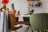 Esszimmerstuhl OMG Stuhl von ZUIVER Stoff Hellgrau Ansicht-5