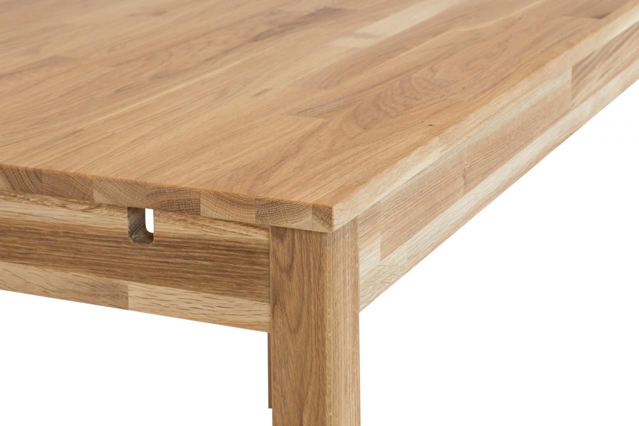Esstisch mars 110 x 70 cm eiche massivholztisch 100 for Esstisch 70
