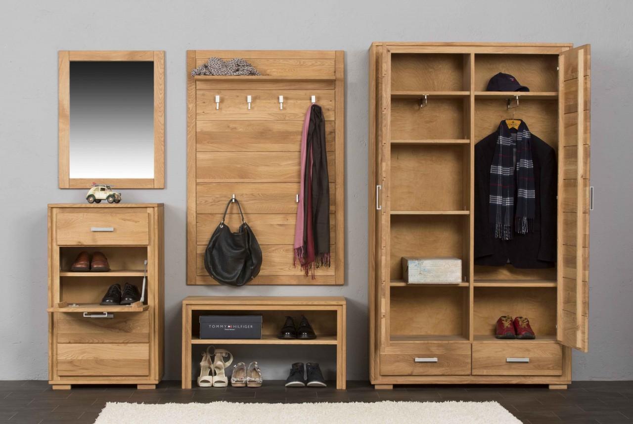 schuhschrank schuhkipper basel 61 cm wildeiche massiv ge lt gewachst. Black Bedroom Furniture Sets. Home Design Ideas