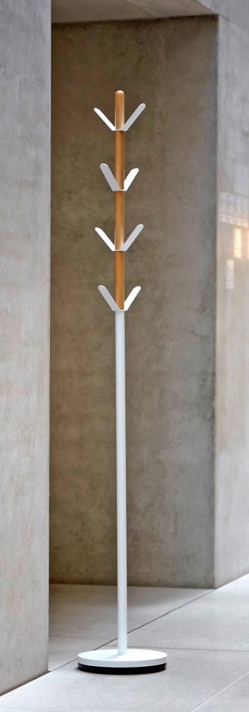 Kleiderständer YORK Design Garderobe Weiß von Jan Kurtz