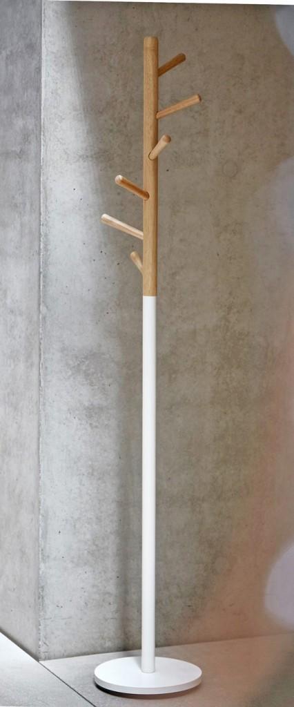 Design Garderobe Kleiderständer KENT Weiß / Buche von Jan Kurtz   eBay