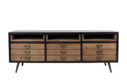 Sideboard Lowboard Sol von DutchBone Vintage Style