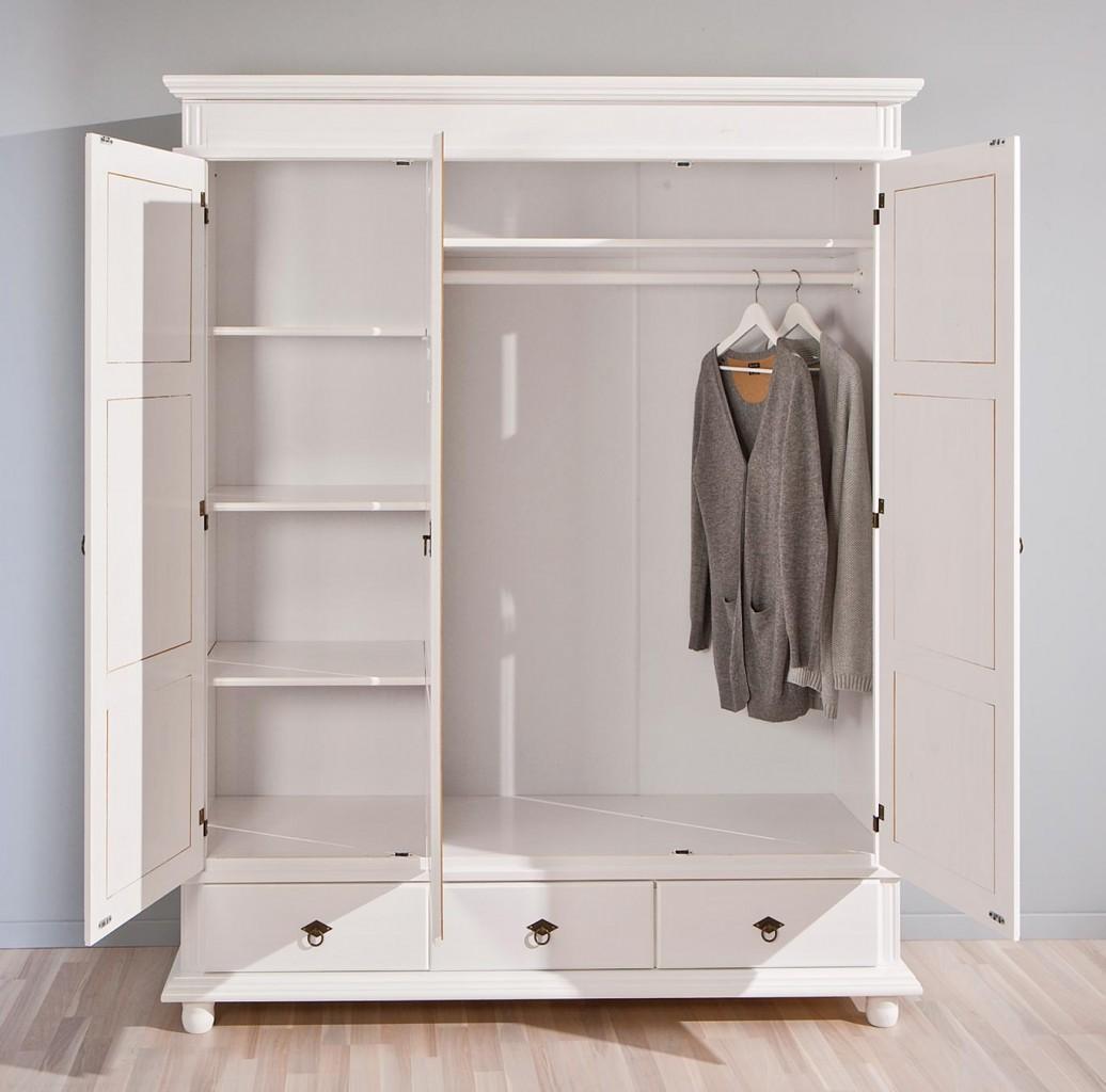 weisser schrank. Black Bedroom Furniture Sets. Home Design Ideas