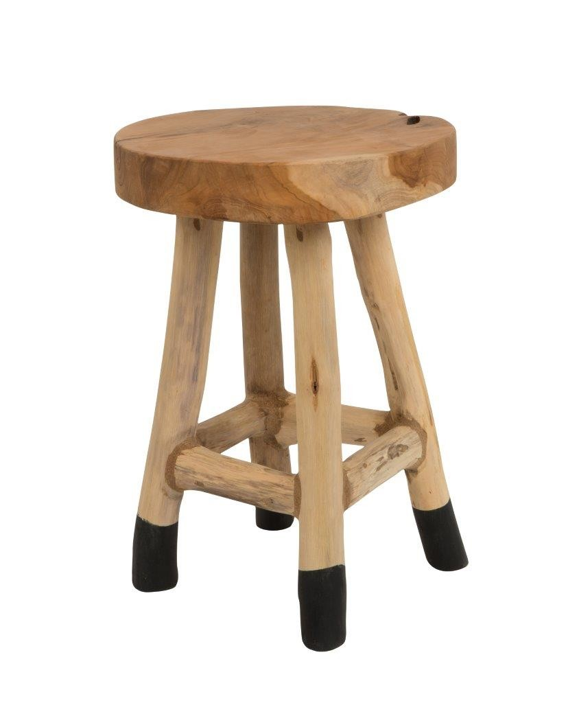 Hocker Schemel HARRY aus Teak