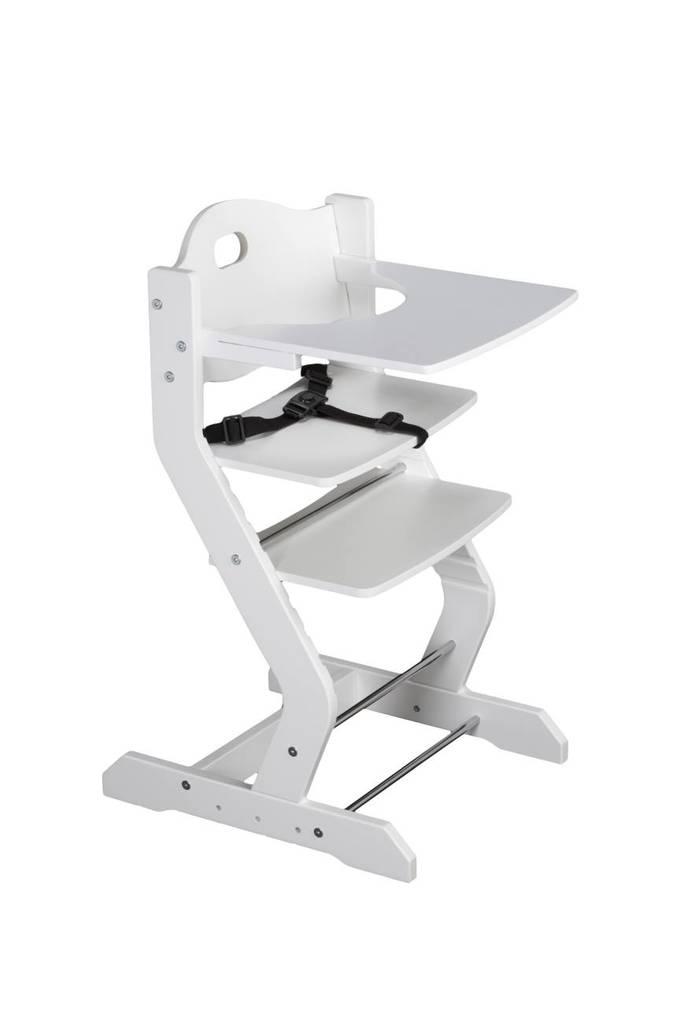 tissi hochstuhl wei inkl brustb gel gurt und tischplatte buche ebay. Black Bedroom Furniture Sets. Home Design Ideas