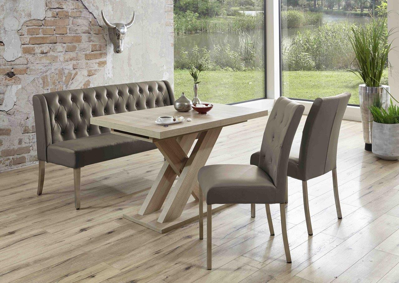 Cheap Cool Essgruppe Bankgruppe Manchester Cappuccino Tisch Sonoma Eiche  With Stuhl Sonoma Eiche With Essgruppe Modern