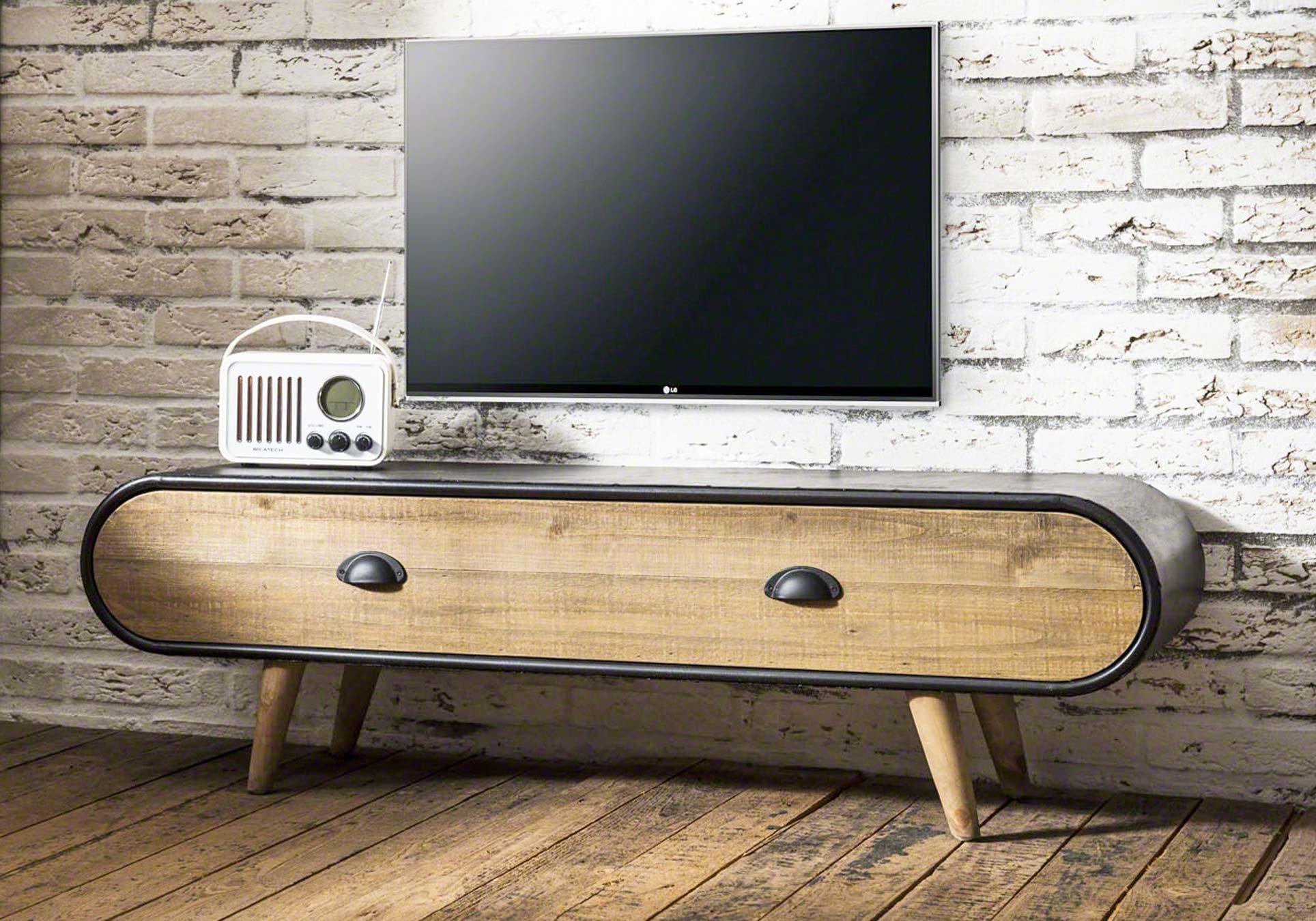 Lowboard Tv Kommode Trunk 1 Schublade Ebay