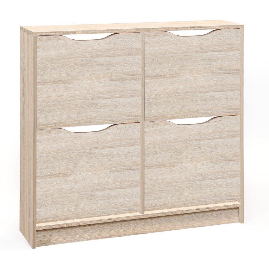 schuhkipper westphalen in sonoma eiche. Black Bedroom Furniture Sets. Home Design Ideas