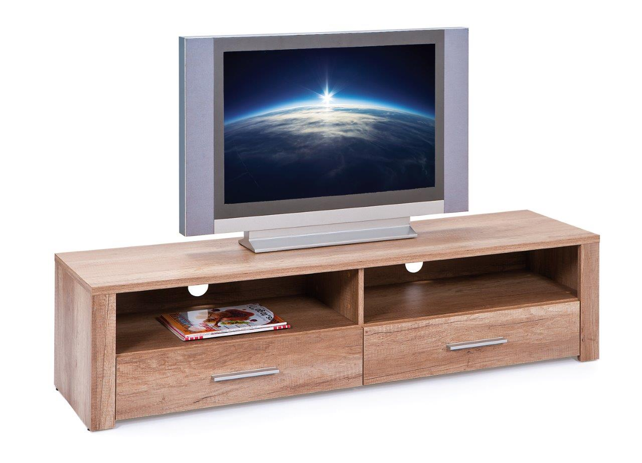 tv board lowboard absoluto 22 wildeiche dekor. Black Bedroom Furniture Sets. Home Design Ideas