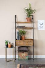 Regal Wandlehnregal ROOK Gestell Metall, Fächer Tannenholz