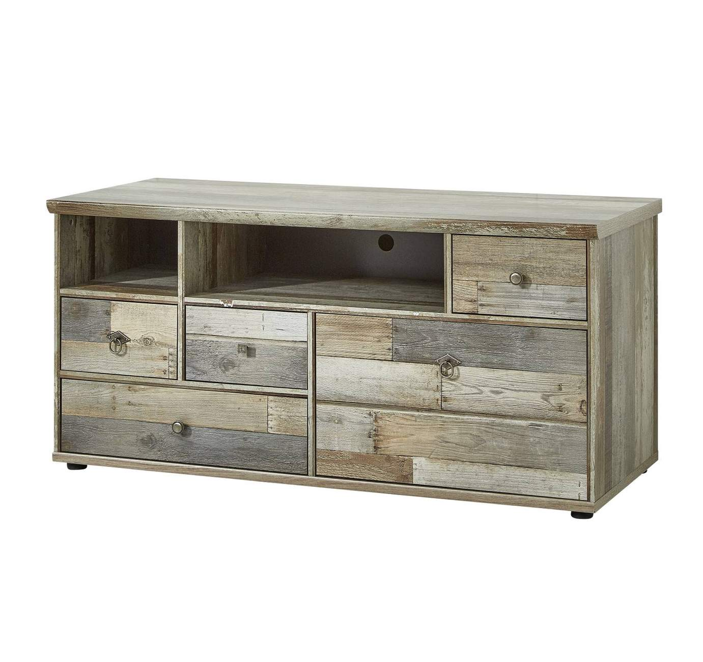 tv kommode bonanza 130 cm driftwood nachbildung ebay. Black Bedroom Furniture Sets. Home Design Ideas